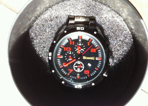 Richelieu watch NEVER been worn still within container