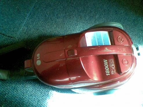 LG bagless vacuum cleaner