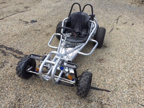 Big wheel -200cc Wet clutch petrol 4 stroke go karts on sale with Shocks and pedals- New