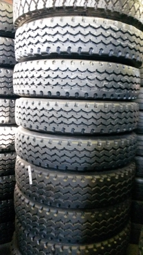 315 & 12R new retreaded tyres....