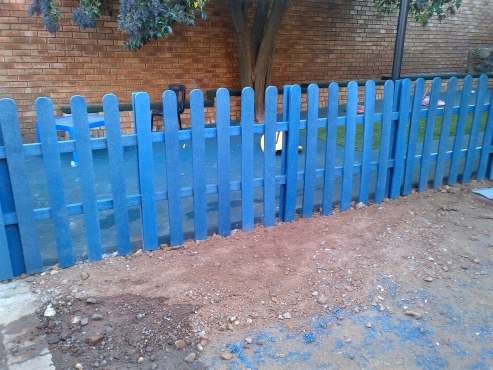 Picket Fencing and Garden Edging