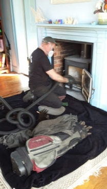 Chimney Cleaning. Fireplace and Braai installations.