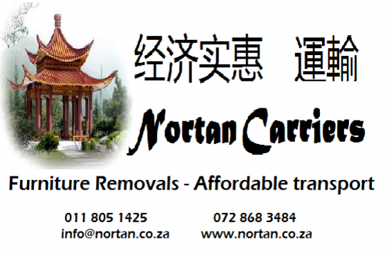 Nortan Carriers furniture removals 0118051425