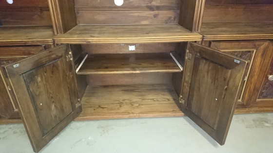Wall Unit-Solid Wood