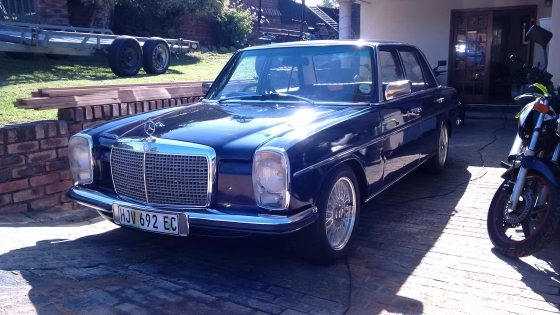 1974 mercedes benz w115 buy used second hand prices for Mercedes benz w115 for sale