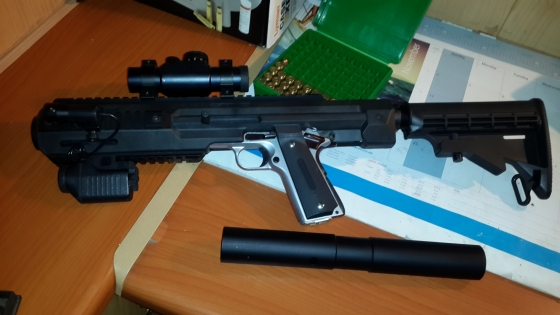 Hera 1911 Carbine Conversion | Junk Mail