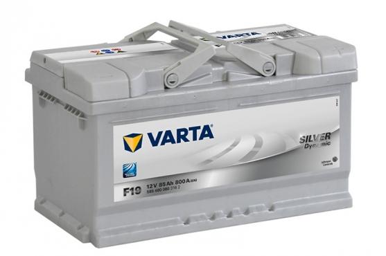 Varta F19 / 668 12v 85ah Car battery - Maiden Electronics Battery Fitment Centre