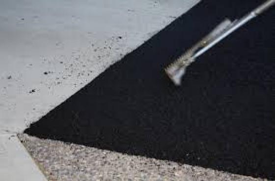 Negotiable tar surfacing and paving