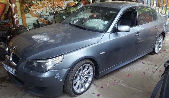 BMW E60 525i LCI 2007 M SPORT STRIPPING FOR PARTS SPARES