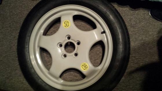 OEM BMW x5 / x6 space saver spare wheel 19 inch