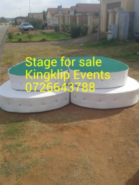 Stage For weddings R2900
