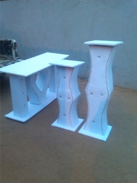 Cake stands and flower stands for sale