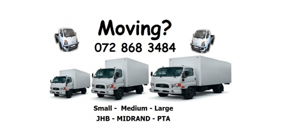 Furniture Removals bakkies for hire