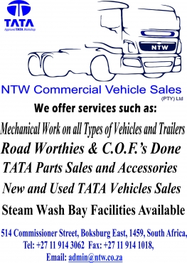Truck Repairs, Services & Spares