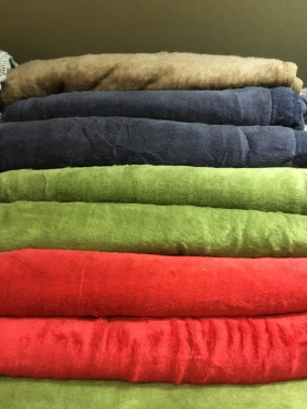 BLANKETS - PLAIN FELTED BLANKET - GREAT FOR CHARITY DISTRIBUTION