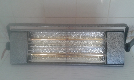 Heaters infrared 3kw