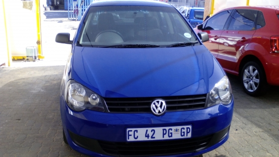 2014 vw polo vivo 1.4 comfortline blue