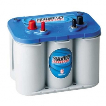 Optima Blue Top 12v 55ah Battery - Maiden Electronics Battery Fitment Centre