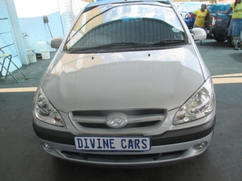 Hyundai Getz 1.6 Engine Comfortline 2008 Model with 5 Doors Factory A/C and C/D Player
