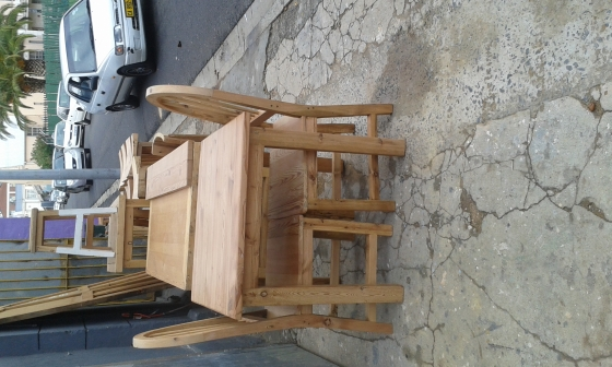 Barstools/chairs for sale (Oregon pine)