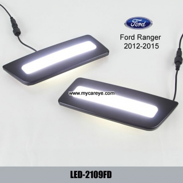 Ford Ranger DRL lights LED daytime safe driving light car parts upgrade