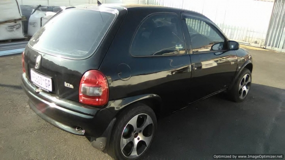 Opel Corsa Lite  2005 Model, 5 Doors, Factory A/C, C/D Player, Central Locking, Colour Black.