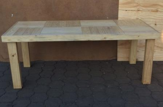 Patio table Farmhouse series 2130 Varnished