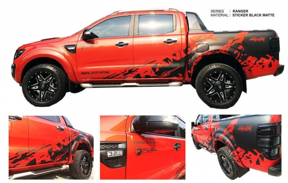 Ford Ranger Stickers Junk Mail
