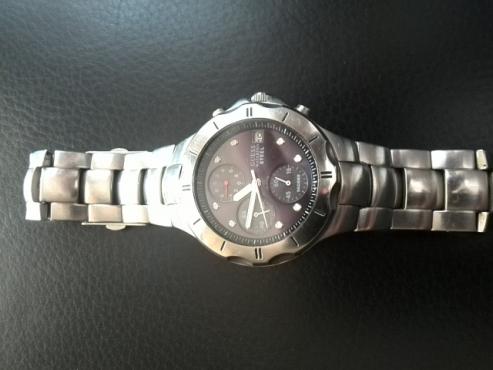 Guess Waterpro gents wrist watch
