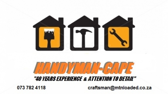WATERPROOFING -HANDYMAN - PAINTER . HOME & OFFICE  REPAIR SERVICES - CAPE TOWN - ALL N. SUBURBS