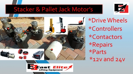 Stacker Pumps and drive wheels pumps and more