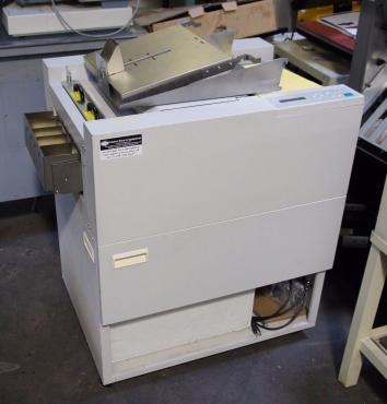 Used Morgana Cardxtra Plus Bindery And Finishing Machine