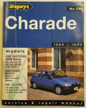 Daihatsu Charade 1980 to 1993 Workshop Manual