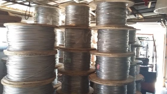 GALVANIZED STEEL WIRE CABLE ROPE