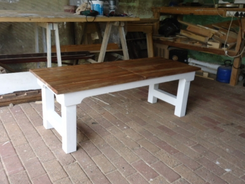 Handcrafted rustic dining, coffee, bedside, patio tables made to your specifications and requirement