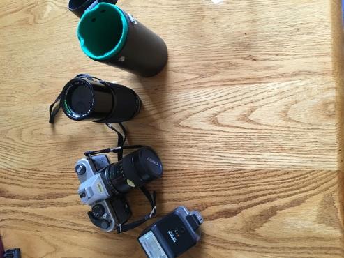 Yashika spool  camera FX 7