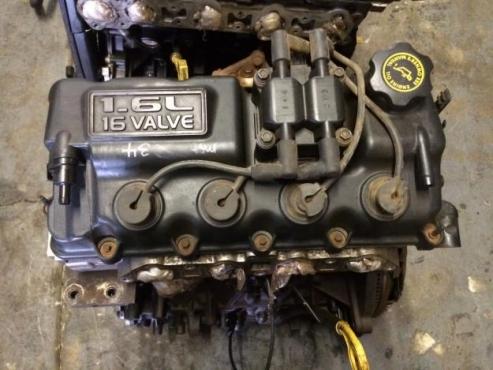 Chrysler neon 2001 1.6 S.SE Petrol engine for sale  Cylinders:4, in line  Valves per cylinder:4  Cap