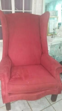 Beautiful Extra Large Wingback Chair