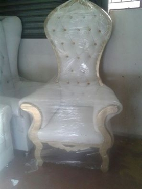 Royal Bride And Groom Chairs For Sale R3700
