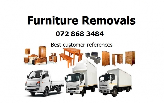 Furniture Removals in Sandton 0728683484