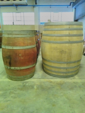 Very rare 500L Wine barrels
