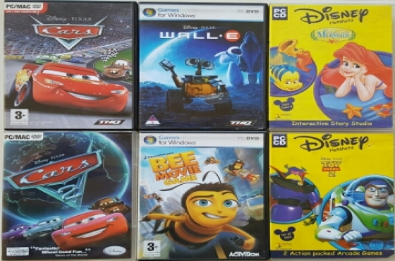 Disney Computer PC Games