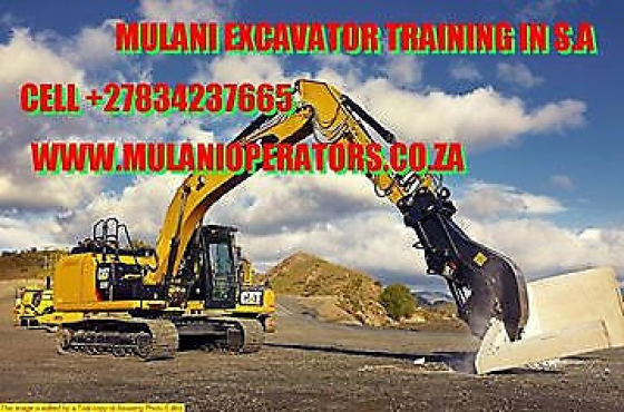 Mulani frontend loader accredited training school Soweto 0834237665