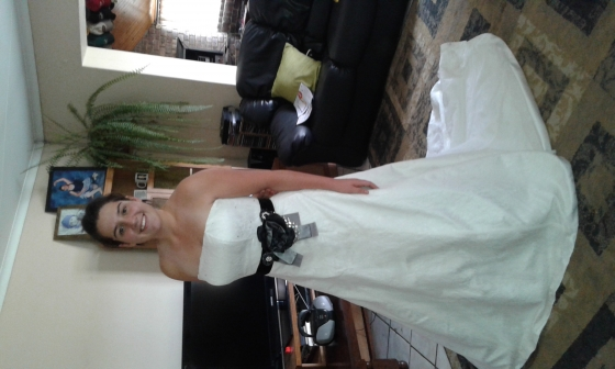Wedding and Evening wear for rent and making of dresses