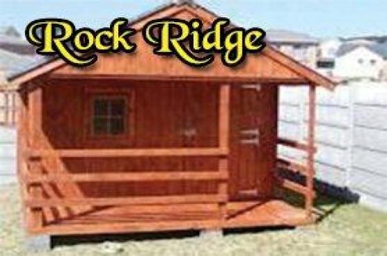 ROCK RIDGE WENDYS and DOG HOUSES