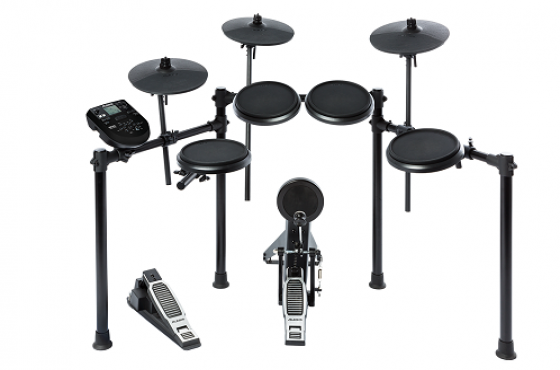 ALESIS NITRO KIT  EIGHT PIECE ELECTRONIC DRUM KIT WITH NITRO DRUM MODULE