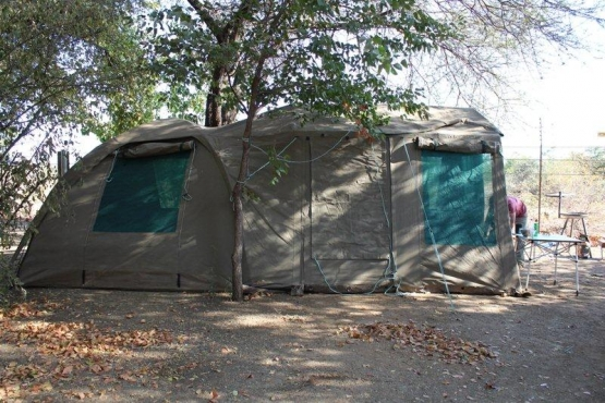 Safari Dome Tent with extension u0026 Venter Trailer & Safari Dome Tent with extension u0026 Venter Trailer   Junk Mail