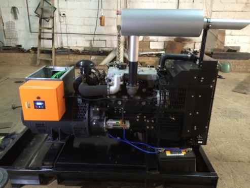 100kVA Generator - Silent or open units.
