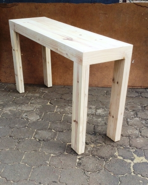 Bar table Chunky Farmhouse series 1800 Raw