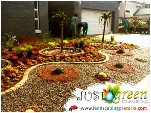 JustGreen Landscaping - Irrigation - Decking - Paving